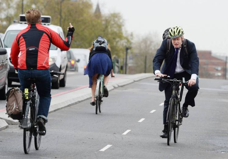 cyclist swearing study