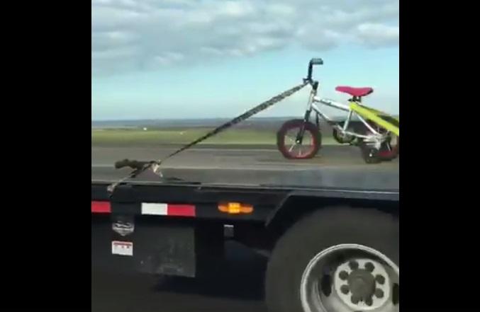 transport child bike funny