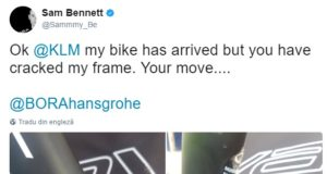 Sam Bennett bike