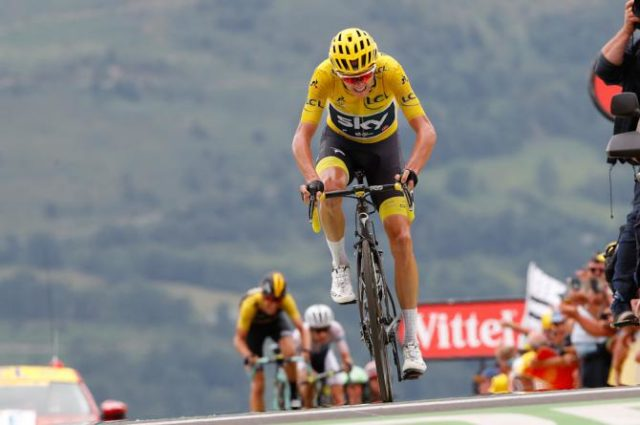 Chris Froome tour de france 2017