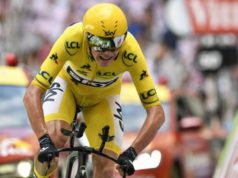 Chris Froome tour de france time trial