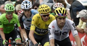 Froome and Landa