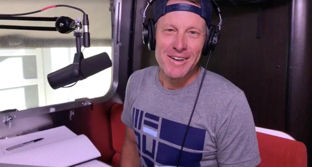 Lance Armstrong podcast tour de france 2017