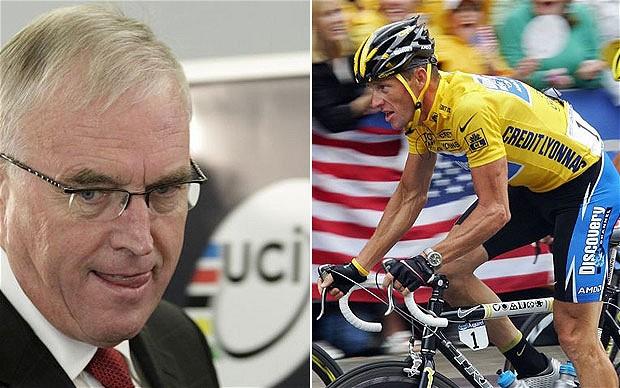 Pat McQuaid Lance Armstrong