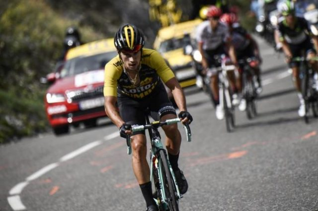 Primoz Roglic tour de france 2017 stage 17