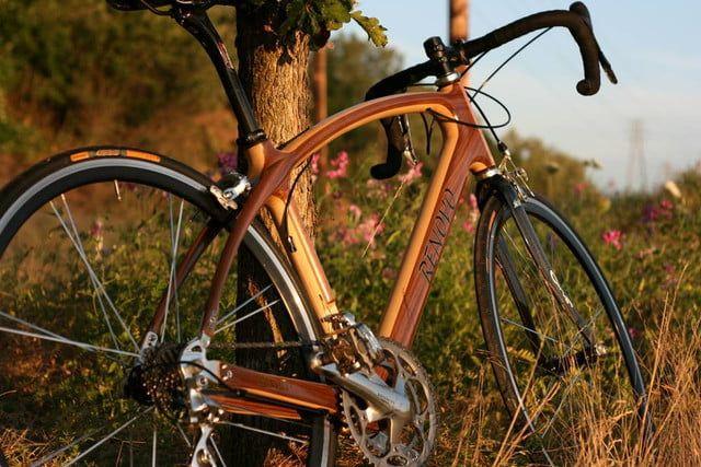 Renovo wooden bike