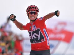 Chris Froome vuelta 2017 stage 9