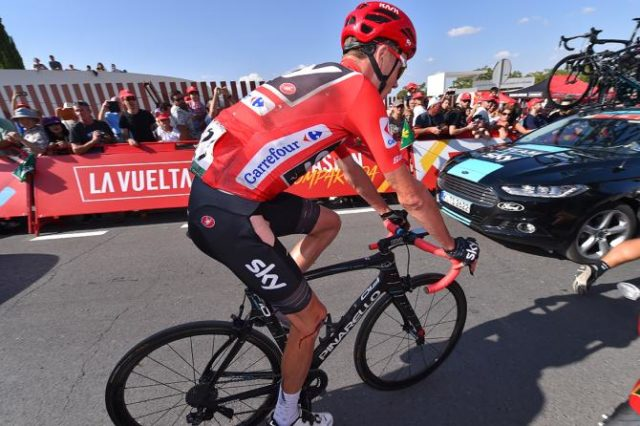 Chris Froome stage 12 vuelta