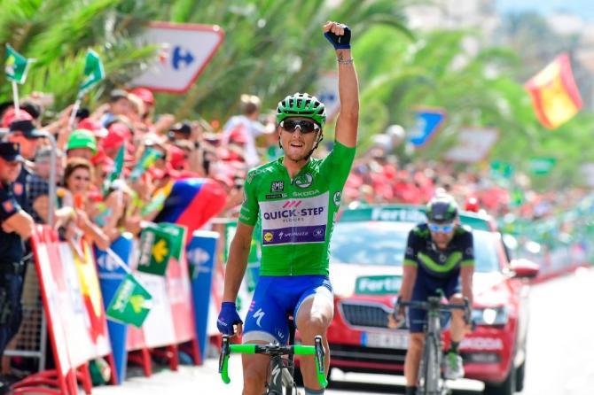 Matteo Trentin vuelta stage 10