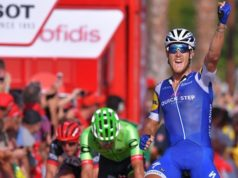 Matteo Trentin vuelta 2017 stage 4
