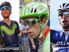 Quintana, Uran and Gaviria world championships 2017