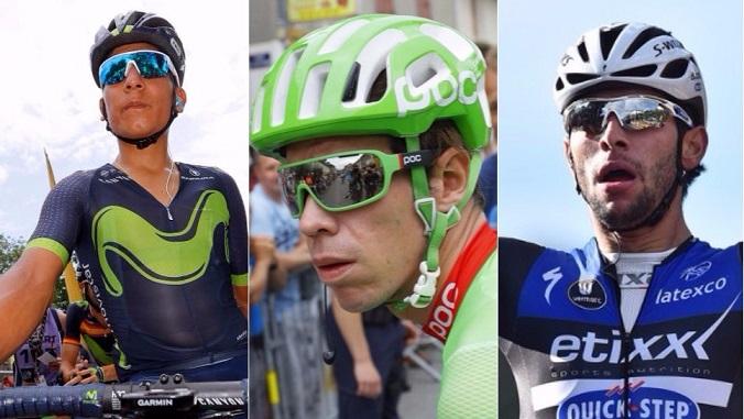 Quintana, Uran and Gaviria world championships 2017