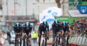 Team Sky team time trial vuelta