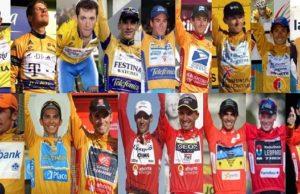 Vuelta a Espana stats history