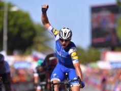 Yves Lampaert wins stage 2 vuelta 2017