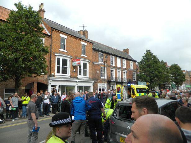 Brent Bookwalter crash tour of britain