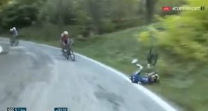Chaves crash giro dell emilia