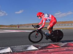 Chris Froome time trial vuelta