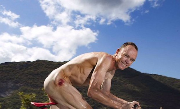 Chris Froome naked
