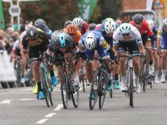 Gaviria Viviani Kristoff tour of britain stage 4