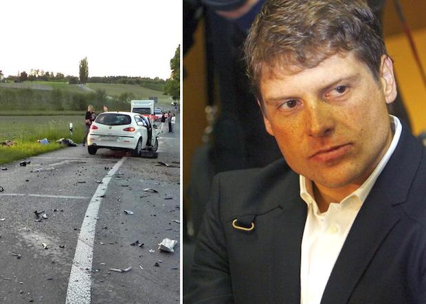 Jan Ullrich accident