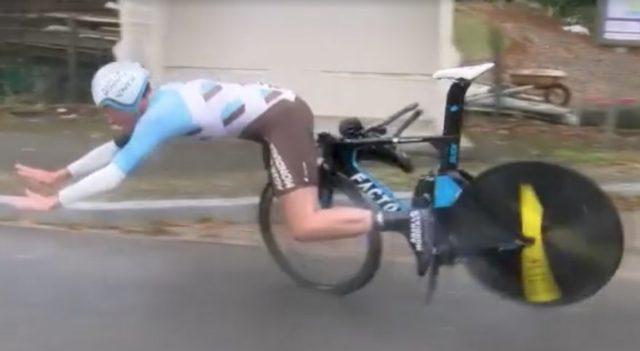 Maxime Roger crash