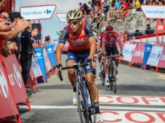 Vincenzo Nibali stage 14 vuelta