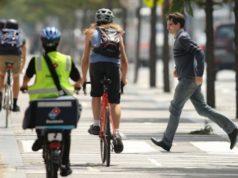 pedestrian cyclist