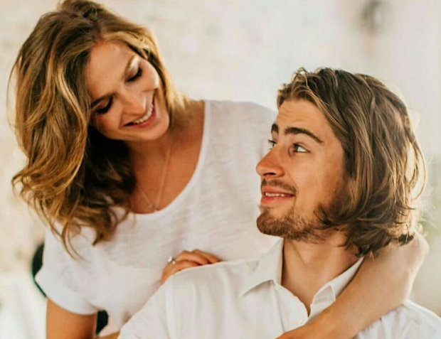 Peter Sagan and Katrina Sagan