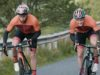 mountain biker vs road cyclist