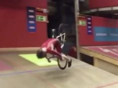 epic crash bunny hop velodrome