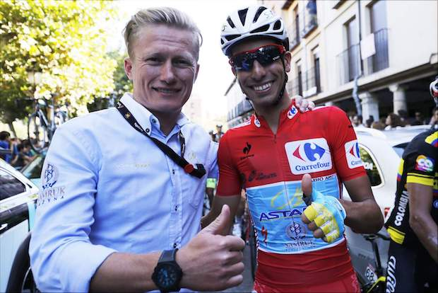 Vinokourov and Aru