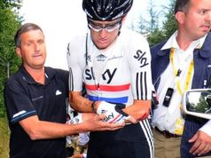 Richard Freeman and Bradley Wiggins