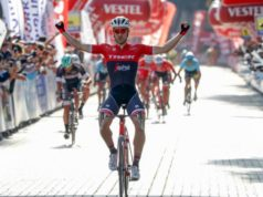 Edward Theuns wins stage 6 Tour of Turkey