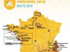 Tour de France 2018 route