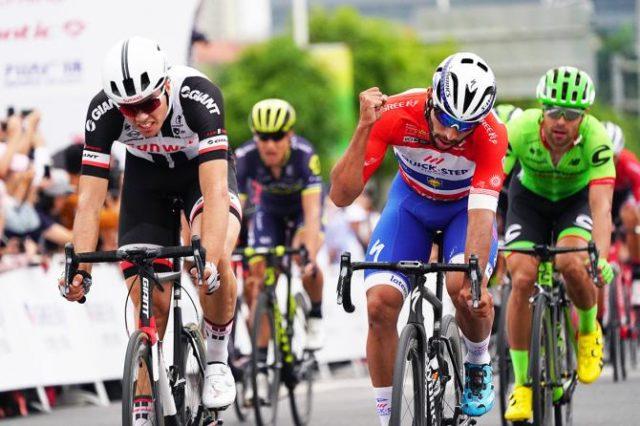 Fernando Gaviria stage 2 tour of guangxi