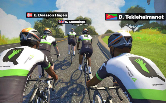Zwift Dimension Data