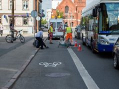 guerrilla bike lanes
