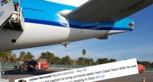 julien vermote emergency landing