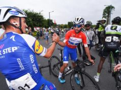 Julian Alaphilippe and Fernando Gaviria