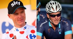 Froome and Armstrong