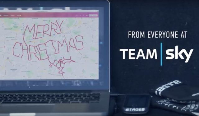 Team Sky Christmas video