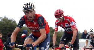 Nibali and Froome