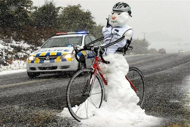 worst things cycling in winter