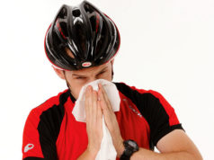 cycling cold flu sick