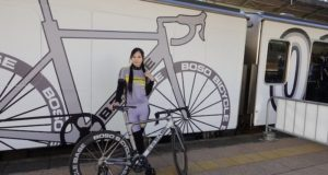 train for cyclists japan