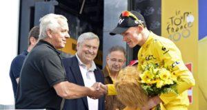 Greg LeMond and Chris Froome