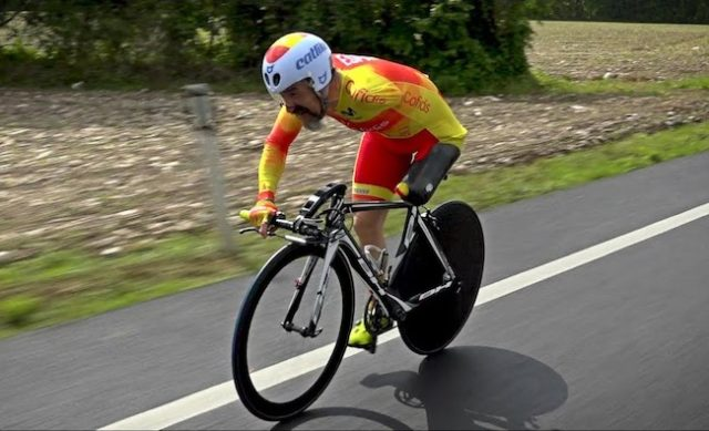 amputee cyclist