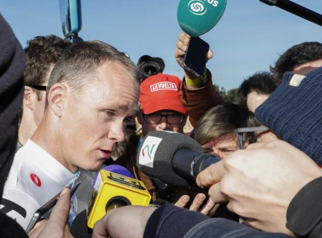 Chris Froome vuelta andalucia 2018