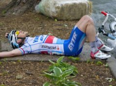 cyclist bonking